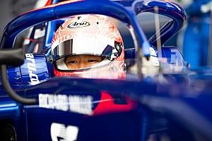 F2で2度目のポールポジション、松下信治「レースでは最後まで生き残るのが大切」