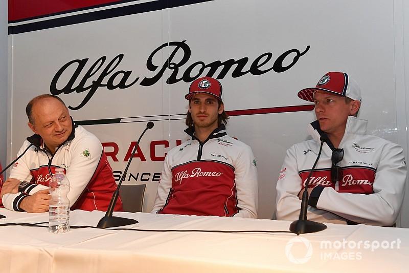 Джовинацци проиграл спор боссу Alfa Romeo – и лишился волос (не всех)