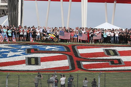 MotoGP retira el #69 de Hayden durante una emotiva ceremonia en Austin