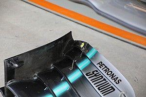 Mercedes : La modification demandée par la FIA a un impact aéro