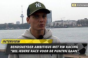 """Bendsneyder ambitieus met RW: """"Wil iedere race voor de punten gaan"""""""