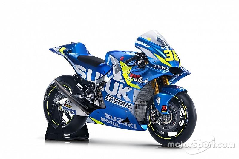 Sem muitas mudanças, Suzuki revela pintura para moto de 2019