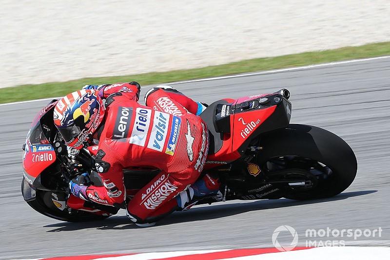 Test MotoGP Sepang, Giorno 2, Ore 14: Dovizioso e la Ducati alla riscossa, Rossi quarto