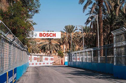 Pilotos da Fórmula E reclamam de novo asfalto da pista de Riade