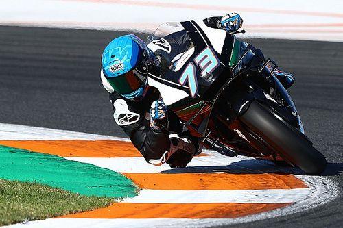 GALERÍA: el primer día de Alex Márquez en MotoGP