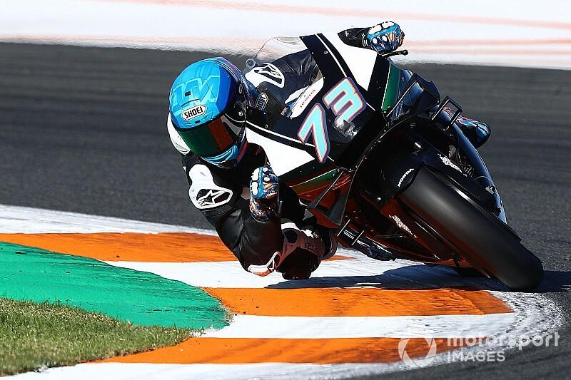 In beeld: De eerste MotoGP-testdag in Valencia