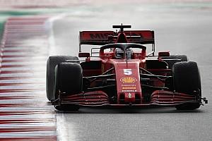 Vettel is megpördült, ismét piros zászló a teszten! (videó)