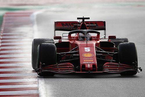 Феттель впервые в 2020 году возглавил итоговый протокол тестов Формулы 1