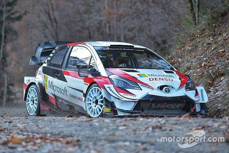 Ogier sufre accidente en su test con Toyota