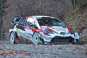 Ogier sufre accidente en su test con Toyota