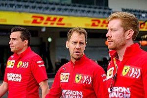 Nem feszült a légkör a Ferrarinál, Vettel motivált