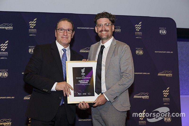 Motorsport Network wins at Motorsport Australia Awards
