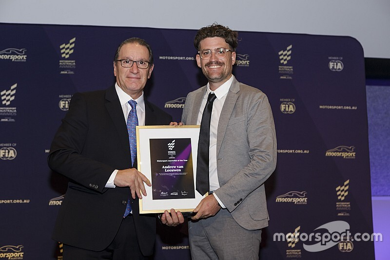 Motorsport Network wins at Motorsport Australia Awards