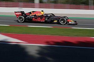 Red Bull пришлось менять мотор уже на второй день тестов