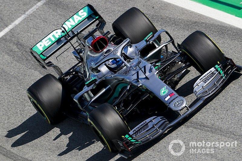 """Mercedes y su """"agresivo"""" diseño del W11"""