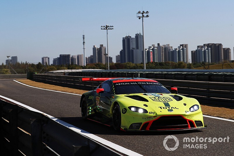 "Aston Martin ""unlucky in two ways"" in Shanghai"