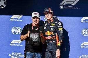 Primeiro no grid do Brasil, Verstappen lembra pole 'tirada' na F1