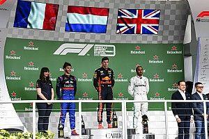 Hamilton pénalisé, Sainz sur le podium!