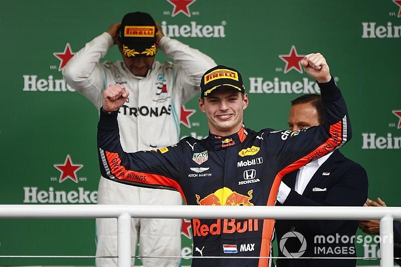 Verstappen genoot van gevecht met Hamilton op weg naar achtste F1-zege
