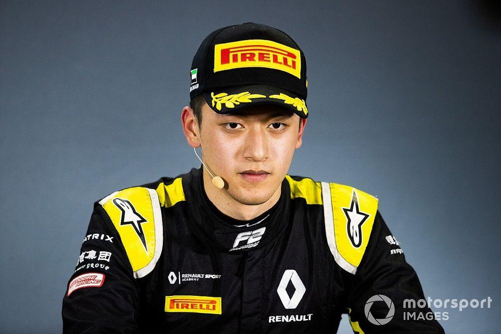 UNI-Virtuosi conferma Guan Yu Zhou per la stagione 2020 di FIA F2