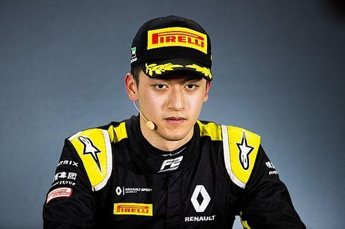 Guan Yu Zhou nuovo test driver del team Renault di F1