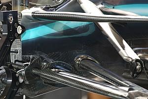 Las innovaciones 2020 que Hamilton y Mercedes probaron