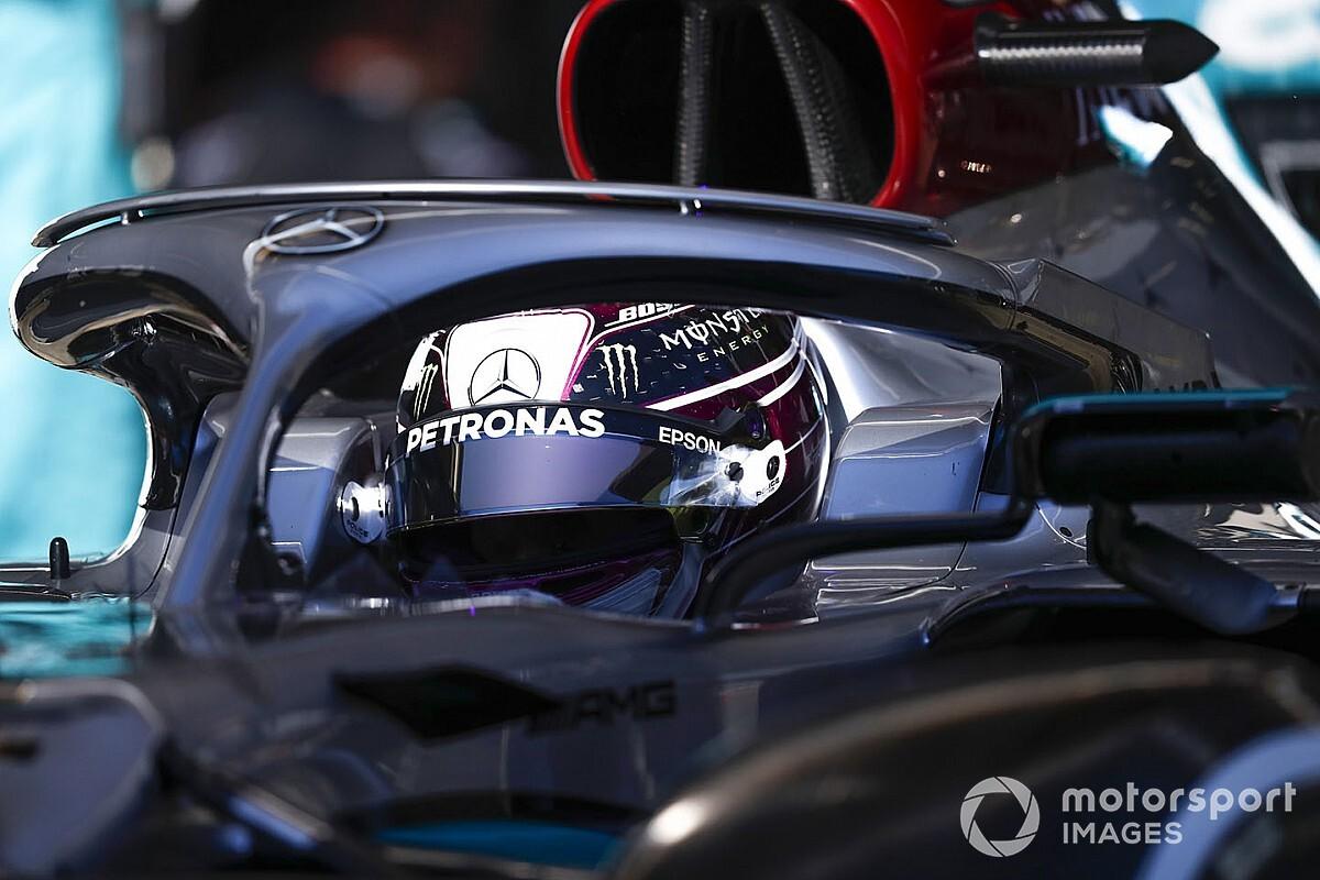 """Hamilton n'est """"pas pressé"""" de prolonger chez Mercedes"""