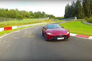 Rém gyenge körre volt képes az Aston Martin V8 Vantage a Nürburgringen