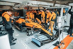 McLaren: la MCL35 è in pista a Barcellona per il filming day