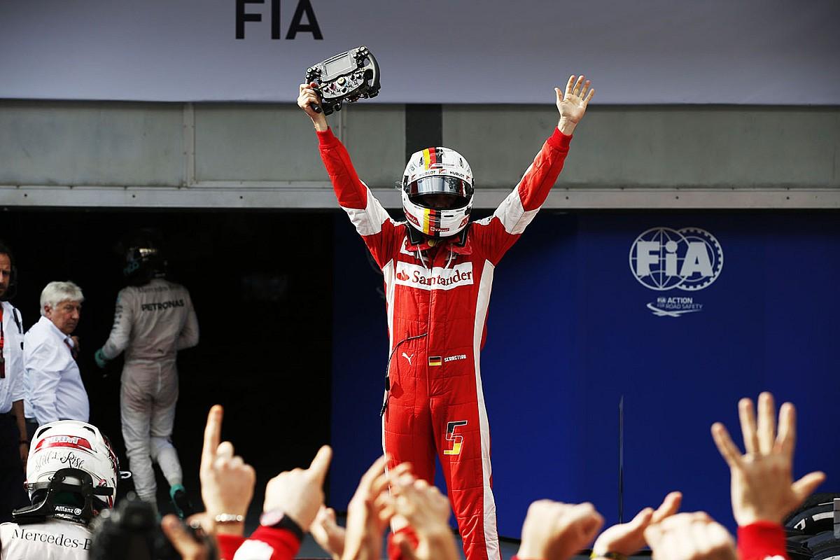 Les victoires de Sebastian Vettel avec Ferrari