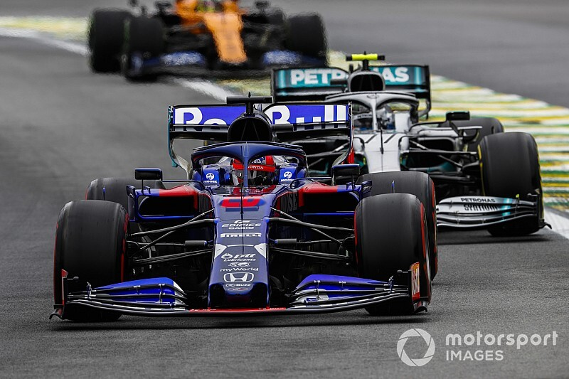 """Kvyat: """"Was in 2019 beter dan in voorgaande F1-jaren"""""""