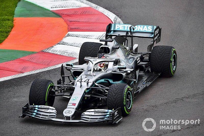 Hamilton na C4, Leclerc na C3