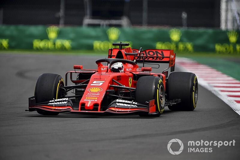 Vettel toma el control en México en la segunda práctica