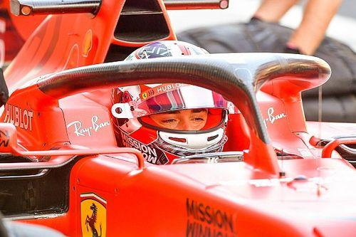 Ferrari отправит Леклера на тесты 18-дюймовых шин