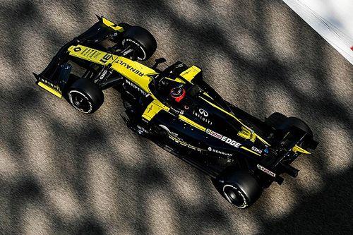 Photos - Ocon poursuit son adaptation à la Renault à Abu Dhabi