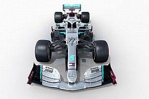 Mercedes последней из топ-команд показала болид-2020