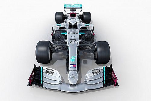Mercedes muestra el W11 de Hamilton y Bottas para 2020