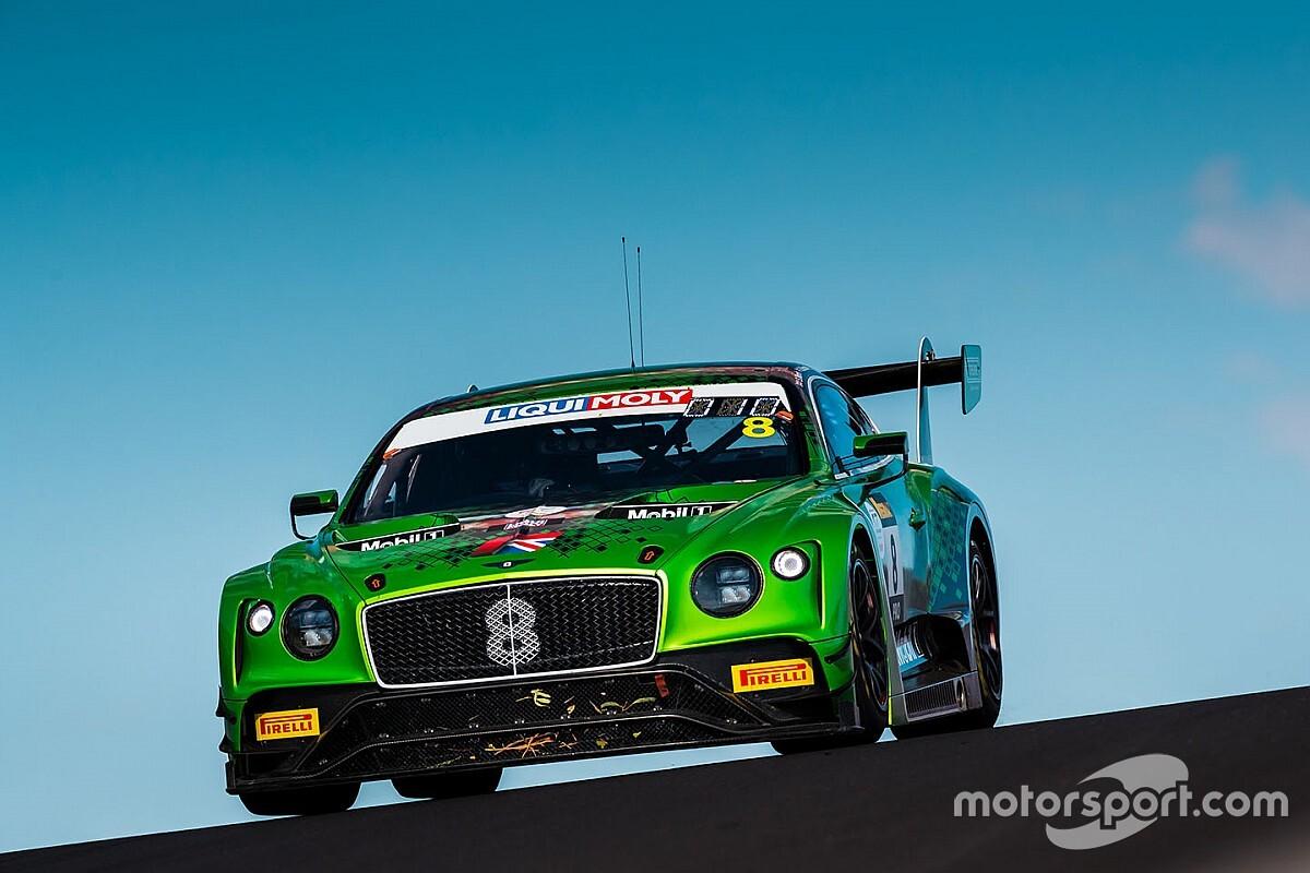 Bentley: a fine stagione addio all'impegno ufficiale in GT3