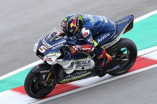 Zarco esperaba más velocidad en su debut con la Ducati