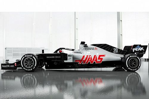 Präsentation Haas VF-20: Neues Auto, alte Farben