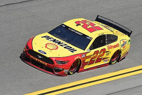 Joey Logano leads final Daytona 500 practice; Toyotas sit out
