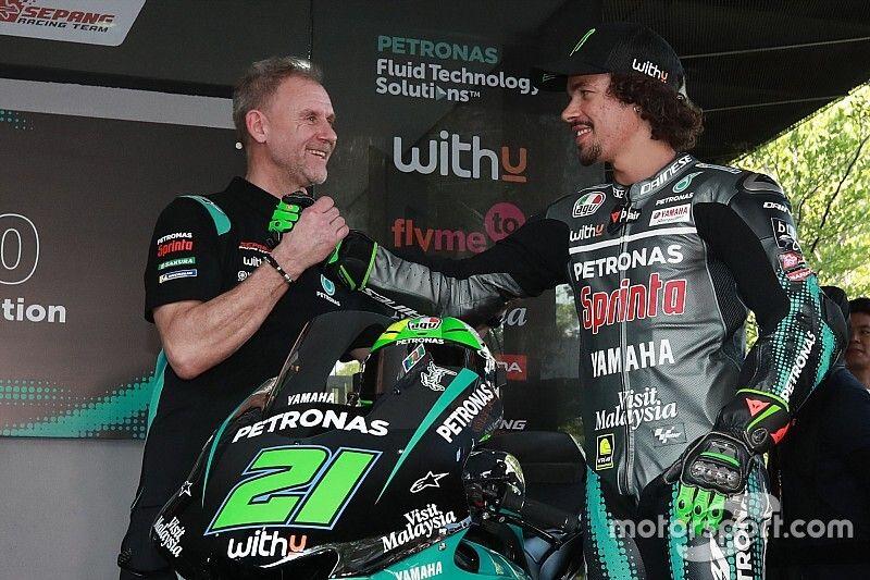 Morbidelli no dispondrá de la misma moto que Rossi, Viñales y Quartararo
