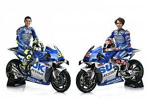 Suzuki unveils new MotoGP livery ahead of testing