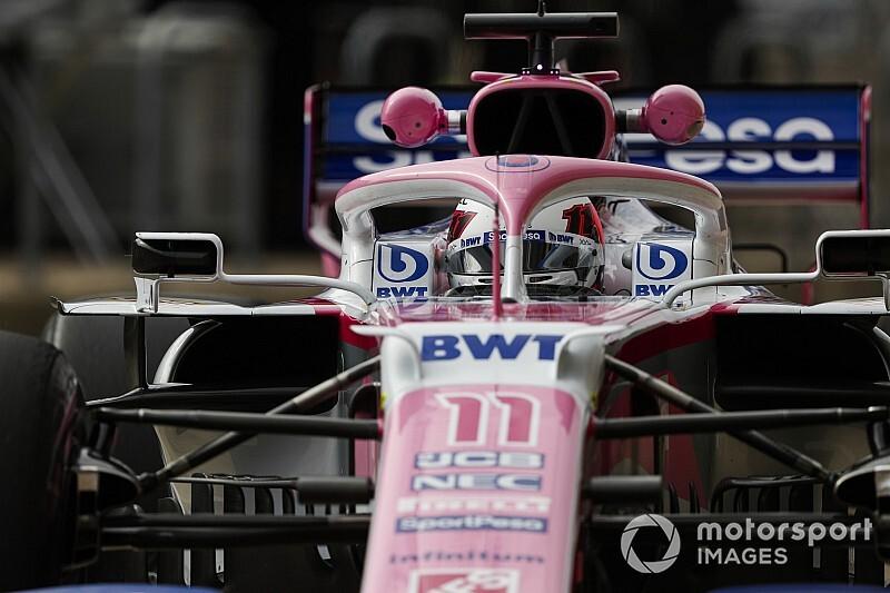 Perez start Amerikaanse GP uit pitlane wegens missen weegbrug