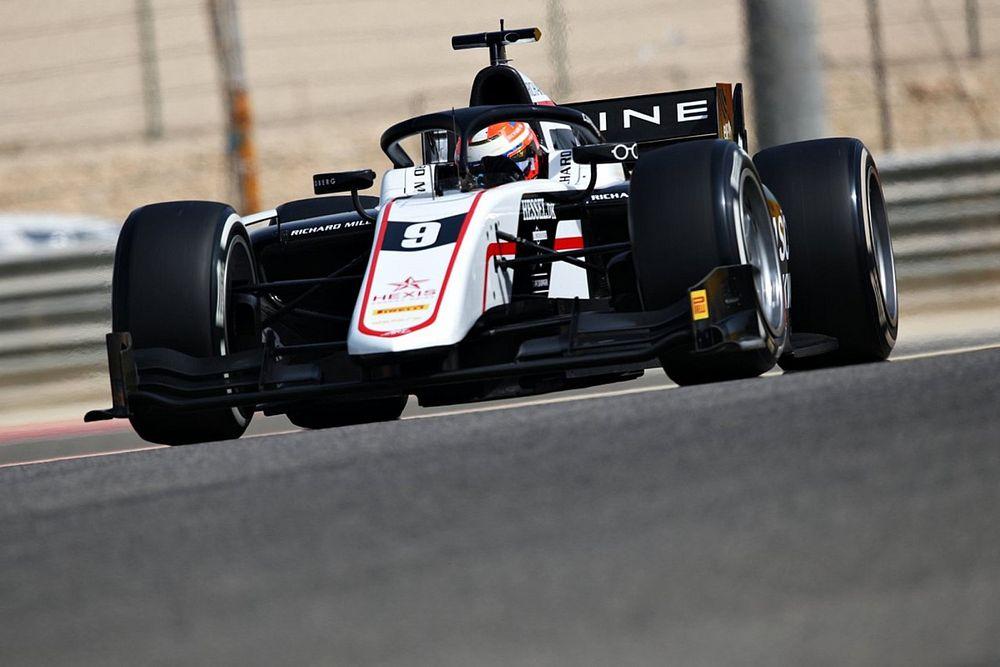 Alpine F1 junior Lundgaard fully focused on F2 title push