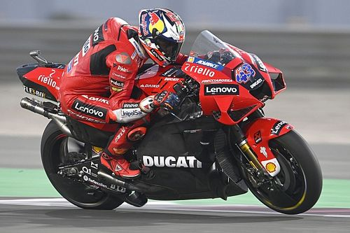 Миллер на Ducati побил рекорд трассы на тестах MotoGP в Катаре