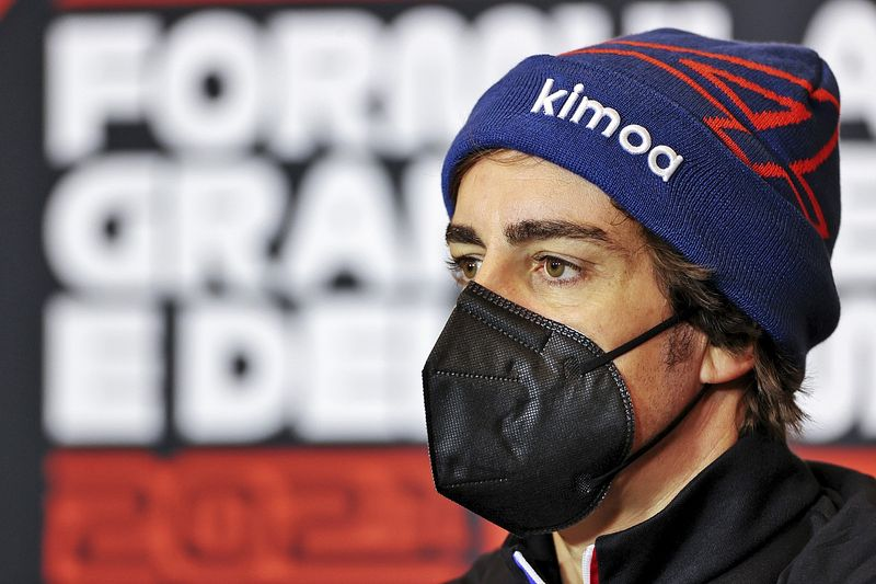 Alonso: I need to improve myself more than Alpine car