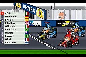 Vídeo: el GP de Bélgica 2004 de F1, por MiniDrivers