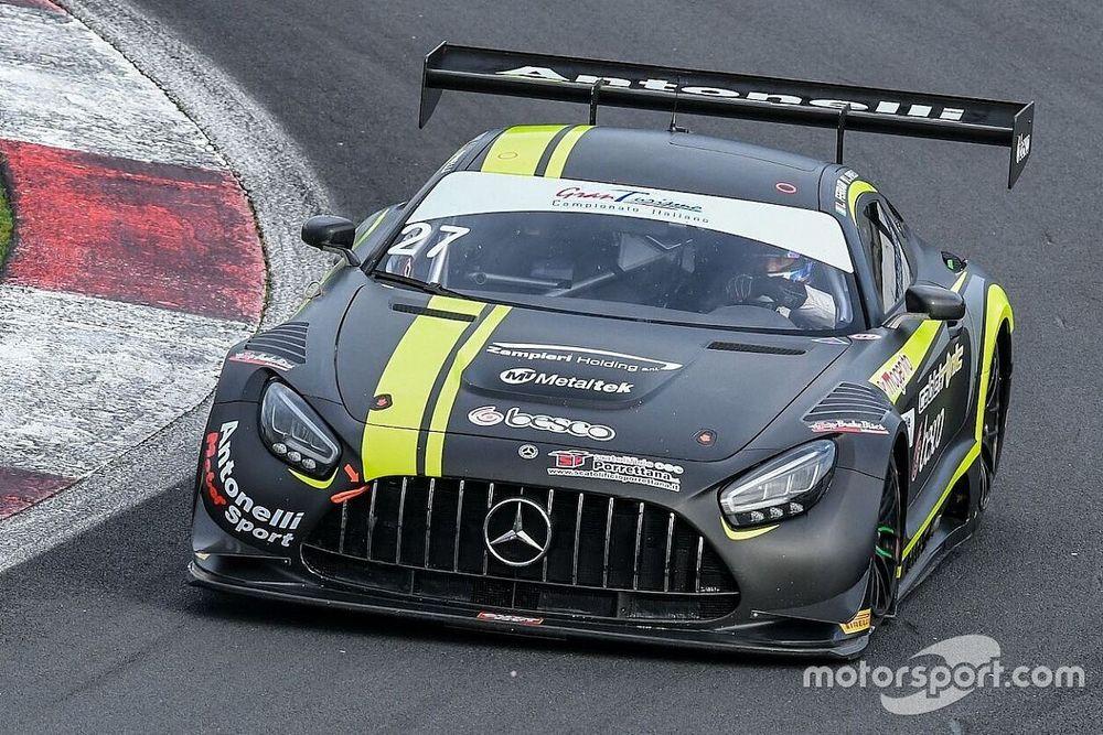 GT Sprint, Vallelunga: Libere 1 a Spinelli-Ferrari sulla Mercedes