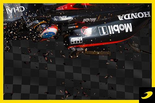 Le jour où le crash effrayant d'Alonso a fait sauter un verrou